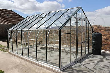 Elite Supreme 10x14 Greenhouse - Horticultural Glazing
