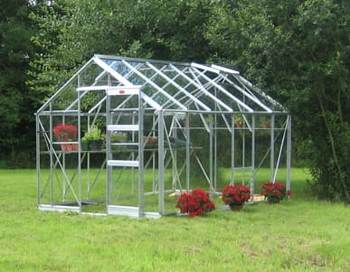 Elite Belmont 8x16 Greenhouse - 6mm Polycarbonate Glazing