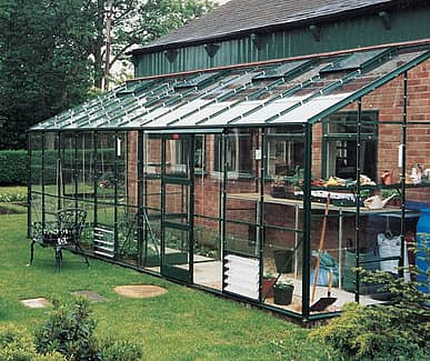 Elite Kensington 6x18 Lean to Greenhouse - 6mm Polycarbonate Glazing