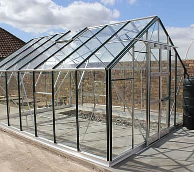 Elite Supreme 10x10 Greenhouse - 6mm Polycarbonate Glazing