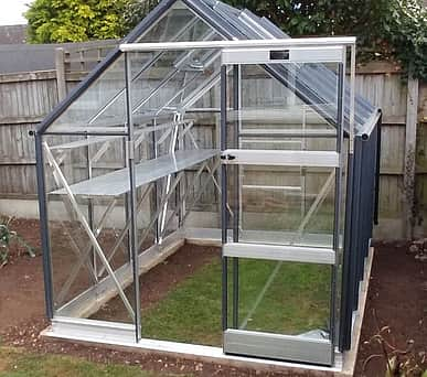 Elite Craftsman 6x12 Greenhouse - Horticultural Glazing