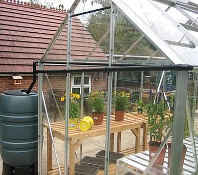 Elite Rainwater Kit to One Gutter 12ft wide Greenhouse