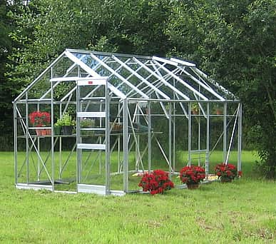 Elite Belmont 8x20 Greenhouse - Horticultural Glazing