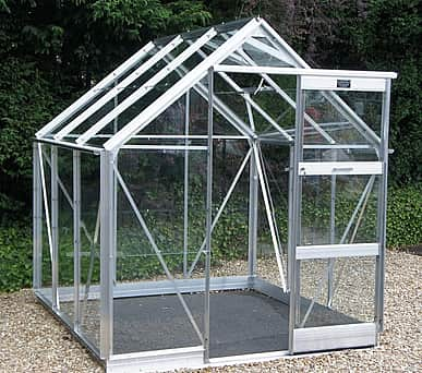 Elite Craftsman 6x6 Greenhouse - Horticultural Glazing