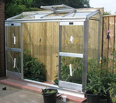 Elite Easygrow 2x8 Lean to Greenhouse - 6mm Polycarbonate Glazing