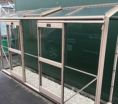Elite Easygrow 2x10 Lean to Greenhouse - 6mm Polycarbonate Glazing