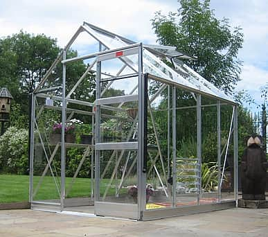 Elite High Eave 6x12 Greenhouse Package - Horticultural Glazing