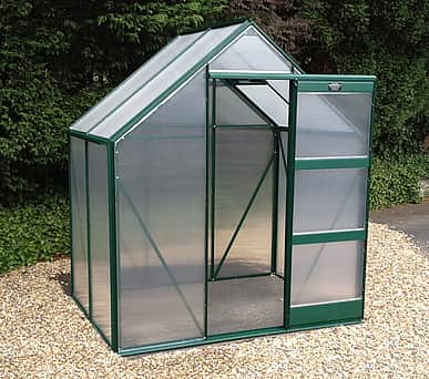 Elite Igro 6x4 Green Greenhouse - Polycarbonate Glazing