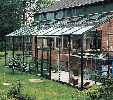 Elite Kensington 6x14 Lean to Greenhouse - 6mm Polycarbonate Glazing