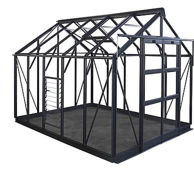 Elite Titan 8x20 Greenhouse - Toughened Glazing