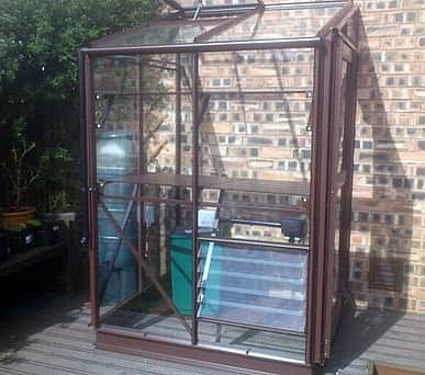 Elite Windsor 4x4 Lean to Greenhouse - 3mm Horticultural Glazing