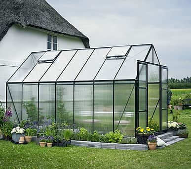 Halls Magnum Green 8x14 Greenhouse - 6mm Polycarbonate Glazing