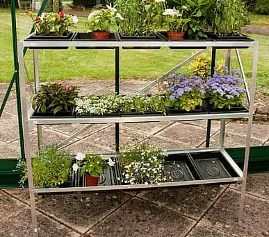 Halls 3 Tier Seed Tray Frame