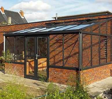 7x20 Janssens Arcadia Plus Mur Lean To Greenhouse
