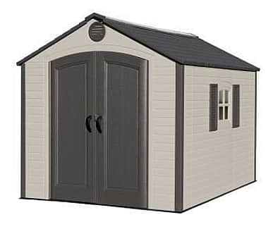 Lifetime 8x10 Plastic Shed Special Edition