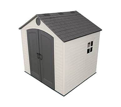 Lifetime 8x7.5 Plastic Shed