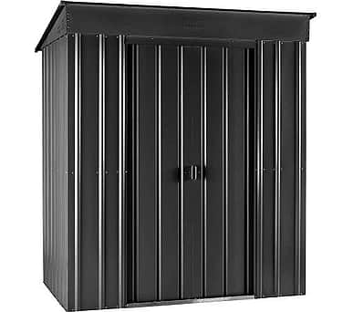 Lotus 6x3 Pent Shed Anthracite Grey