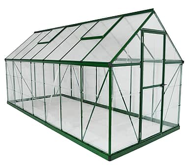 Palram Hybrid 6x14 Green Polycarbonate Greenhouse