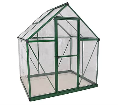 Palram Hybrid 6x4 Green Polycarbonate Greenhouse