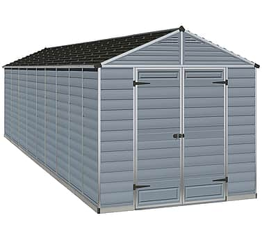Palram 8x20 Plastic Skylight Grey Shed