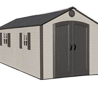 Lifetime 8x12.5 Special Edition Heavy Duty Plastic Shed