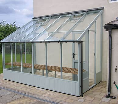 Swallow Dove 6x10 Lean to Greenhouse