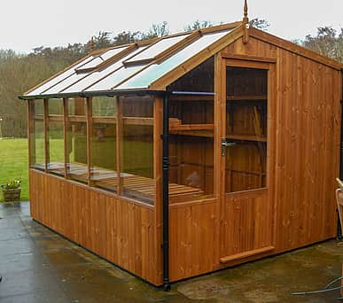 Swallow Rook 8x6 Wooden Potting Shed