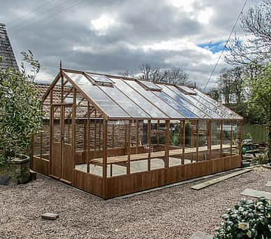 Swallow Falcon 13x44 Wooden Greenhouse