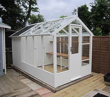 Swallow Kingfisher 6x8 Greenhouse + 4ft Shed Combination