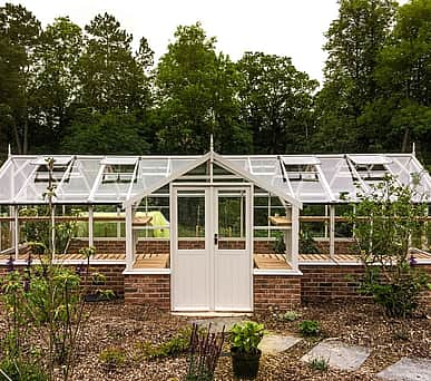 Swallow Swan 8x38 Wooden Greenhouse
