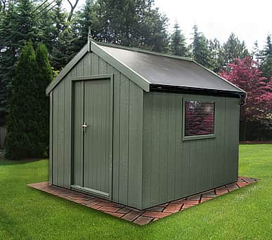Swallow 8x8 Luxury Shed