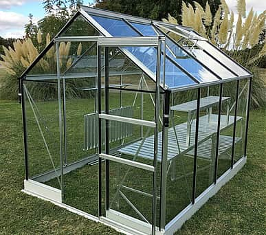 Vitavia 6x12 Apollo 7500 Greenhouse - Horticultural Glass