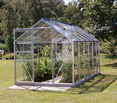 Vitavia 6x12 Venus 7500 Greenhouse - Toughened Glass