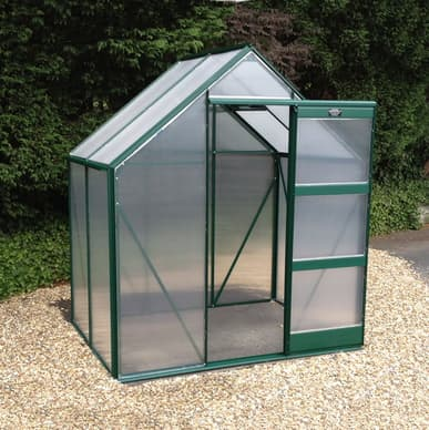 Elite Igro 8x6 Green Greenhouse - Polycarbonate Glazing