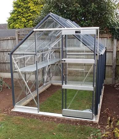 Elite Craftsman 6x12 Greenhouse - Polycarbonate Glazing