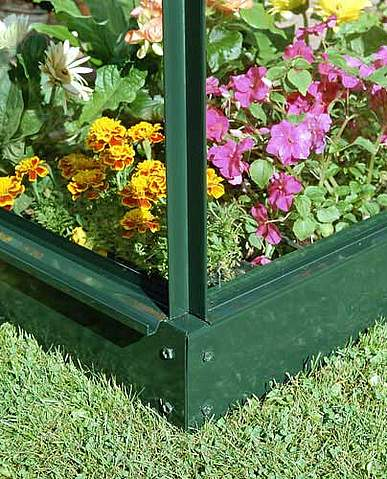 2x6 Green Halls Greenhouse Base - Wall Garden