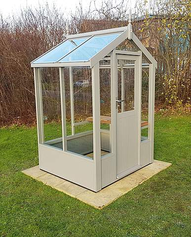 Swallow Lark 4x4 Wooden Greenhouse