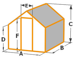Greenhouse Size Diagram
