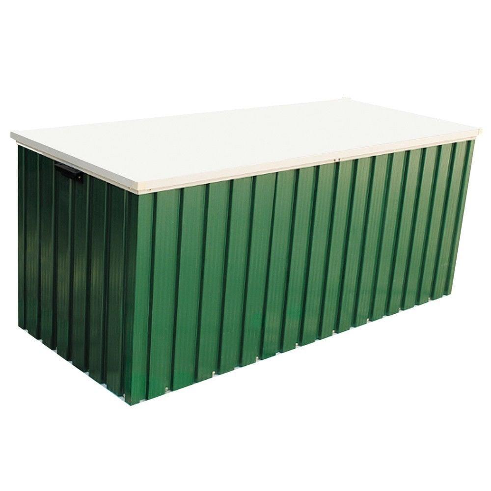 Emerald 4x2 Green Metal Storage Box Greenhouse Stores