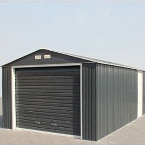 emerald olympian anthracite 12x38 metal garage. Black Bedroom Furniture Sets. Home Design Ideas
