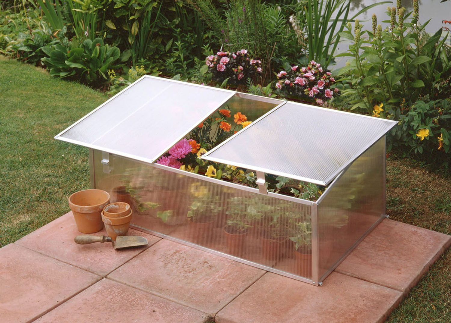 Halls 3x2 Cold Frame Polycarbonate Greenhouse Stores