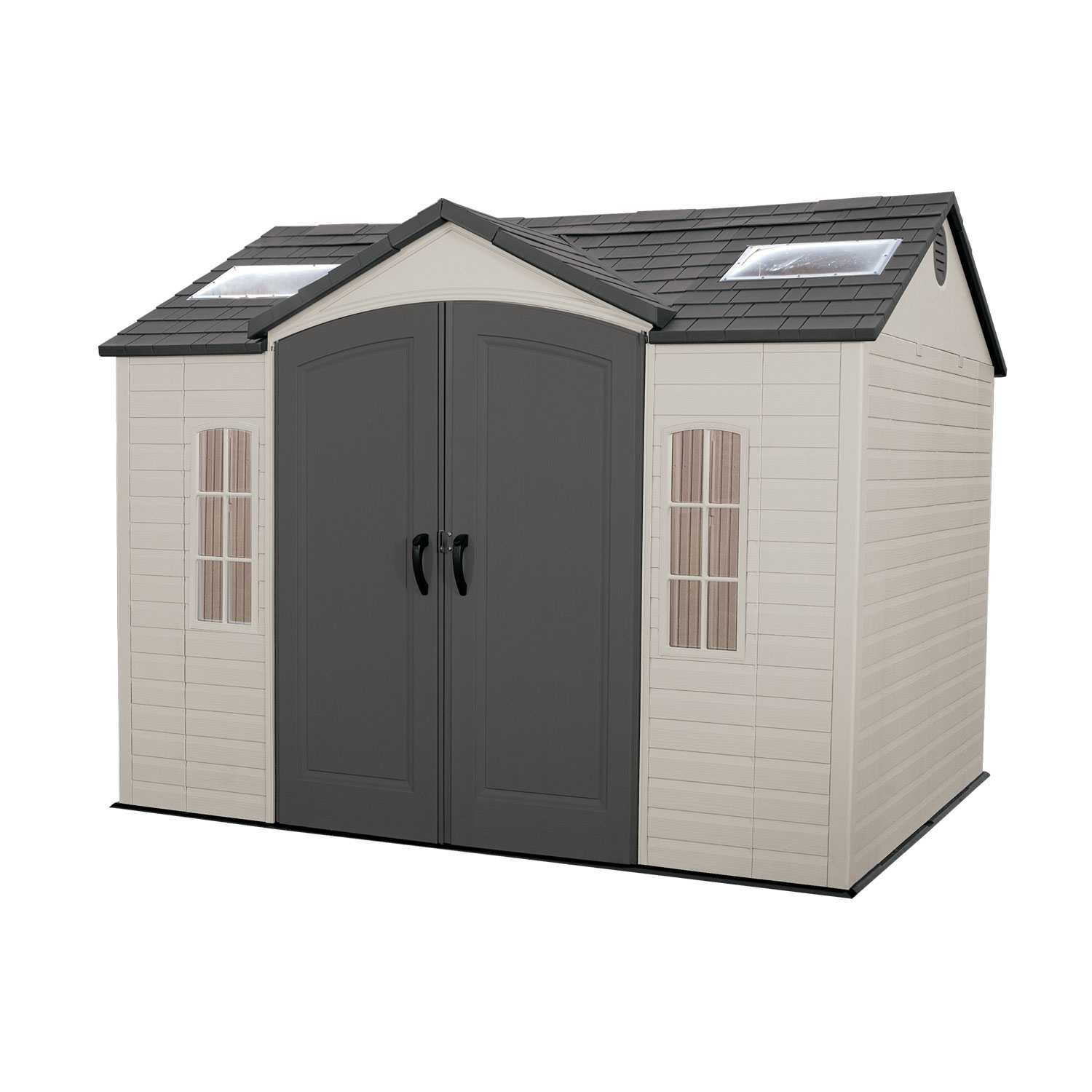 Lifetime 10x8 Plastic Shed Greenhouse Stores
