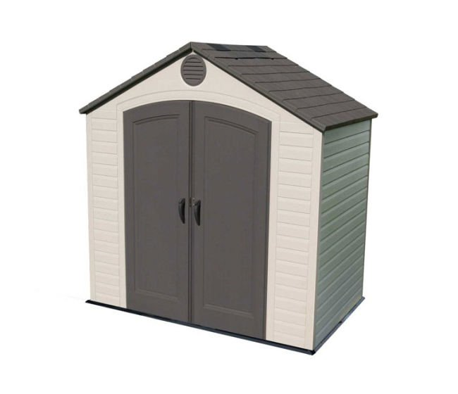 Lifetime 8x5 Plastic Shed Greenhouse Stores