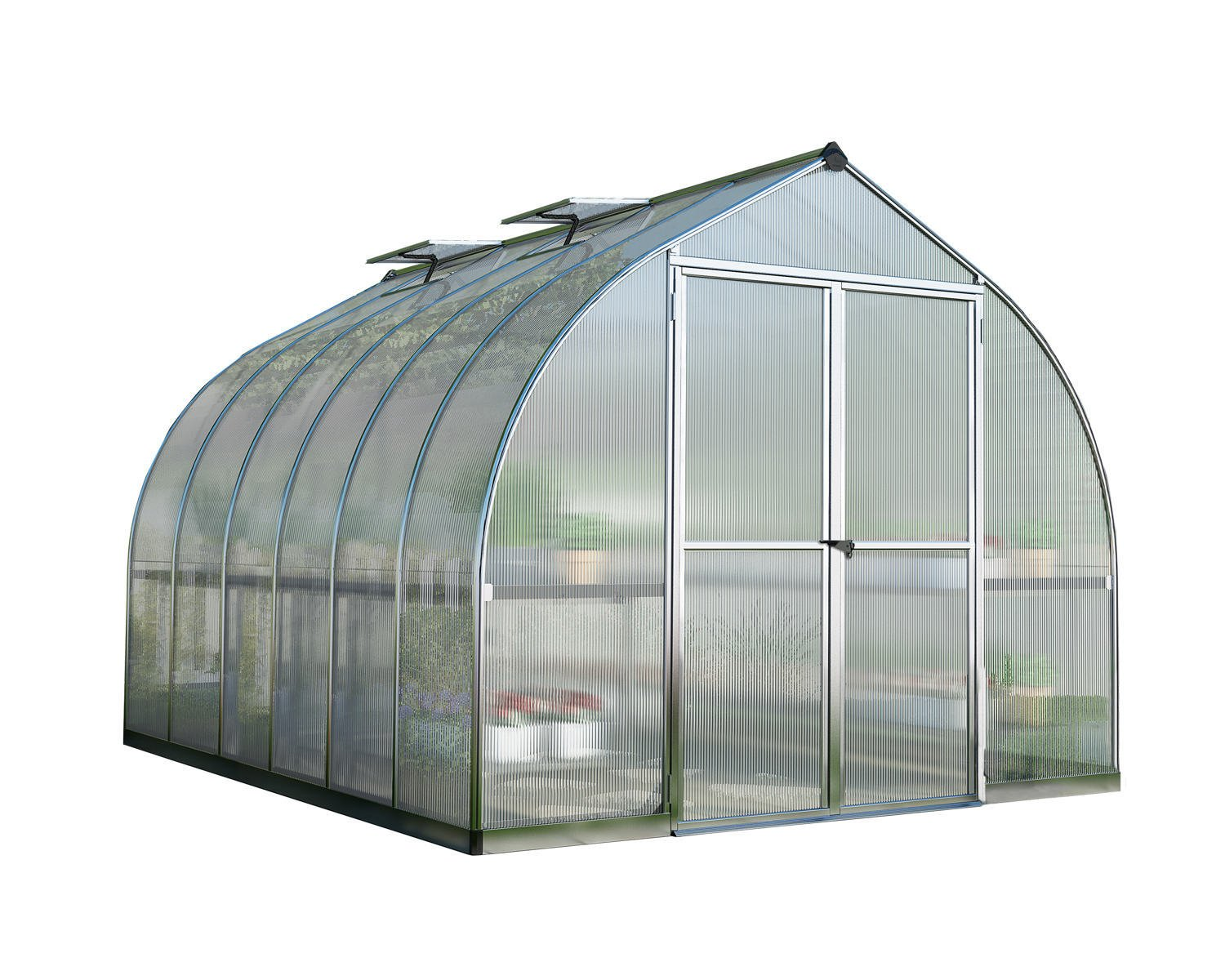 Palram Bella 8x12 Polycarbonate Greenhouse
