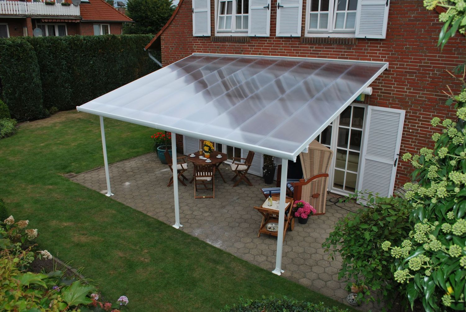 Palram Feria 4m Patio Cover In 2 Lengths