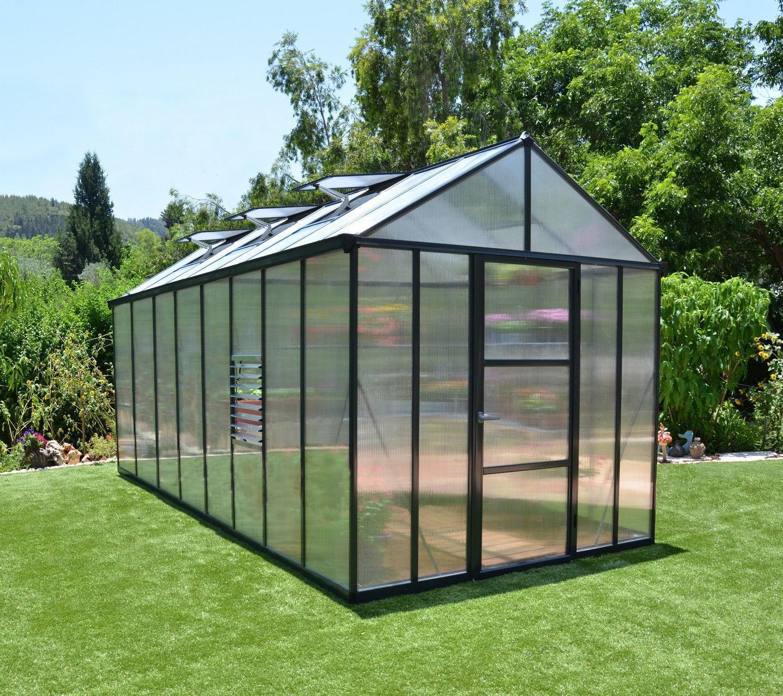 Palram Glory 8x16 Polycarbonate Greenhouse