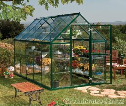 Palram Harmony 6 X 10 Green Greenhouse Greenhouse Stores