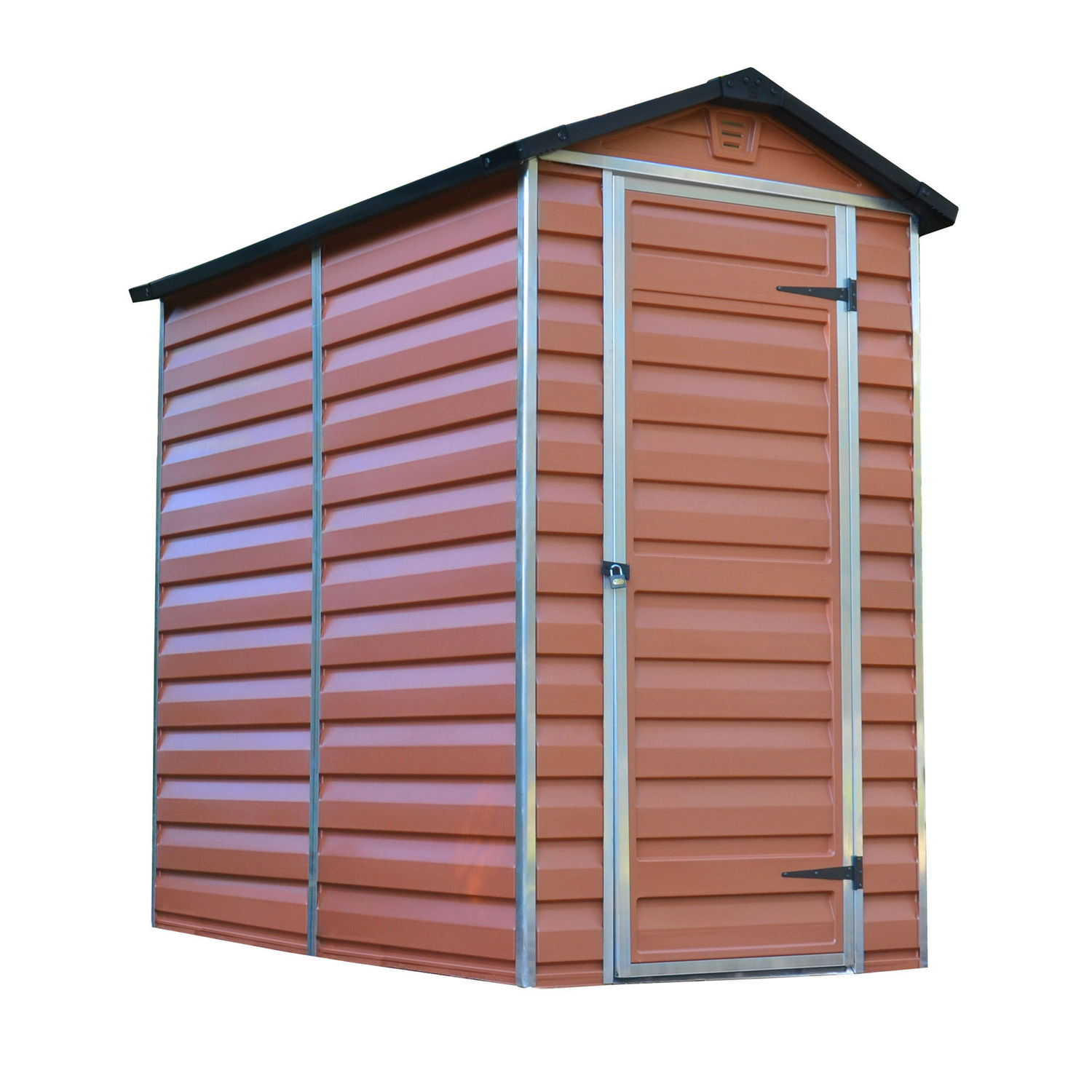 Palram 4x6 Plastic Skylight Amber Shed Greenhouse Stores