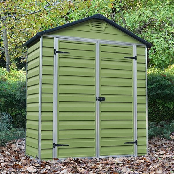Palram 6 X 3 Plastic Skylight Shed Greenhouse Stores