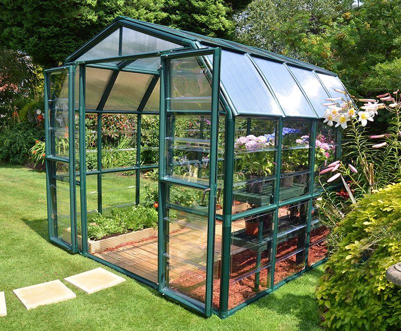 Rion Grand Gardener 8x8 Greenhouse Polycarbonate